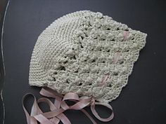 Crocheted Chapeau for Baby free pattern by Wendy Harbaugh