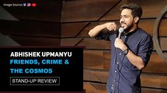 Saavdhan rahe, satark rahe. Because Abhishek Upmanyu has uploaded 'Friends, Crime, & The Cosmos' on his YouTube channel; and yes he has one. Go find what it's about! . . . #FriendsCrimeAndTheCosmos #AbhishekUpmanyu #TheHabitat #WebfareReviews #StandUpReview #Review #CrimePatrol #Comedy #Webfare  #WebfareLive #StandUp Stand Up Comedy, Laugh Out Loud, Puns, Comedians, Cosmos, Documentaries, Laughter, Crime, Channel