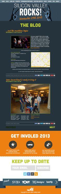web design by masofon #POTD99 10.30.2013 #siliconvalley #music
