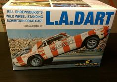 Model King MPC 1970 La Dodge Dart Wheel Standing Model Kit | eBay