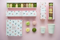 art direction & graphic design for a macaron manufacture
