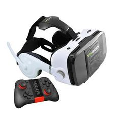 New VR BOSS Virtual Reality glasses With headphone microphone Headset Speaker Button for smartphone Virtual Reality Glasses, Virtual Reality Headset, Cell Phones In School, Cell Phone Service, Phone Deals, Bluetooth Remote, 3d Glasses, Vr Headset, Consumer Electronics