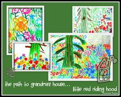 Have you ever wondered what the path to grandma's house would look like in the fairy tale Little Red Riding Hood ? I read to the students Little Red Riding Hood written by Brothers Grimm with ill…
