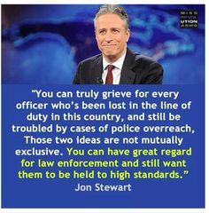 You can support cops and grieve cops and still question bad cops. @TheDailyShow via @MissREVO.  #NYPDShooting