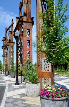 Copley Wolff Design Group  Assembly Row, Boston, USA, Landscape Architecture, reuse, industrial landscape, granite, recycle, steel,