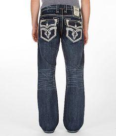 $158 Rock Revival Carl Boot Jean
