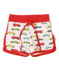 Baba Babywear super funky car printed short. baba-babywear.en.emilea.be