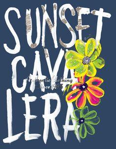 Estampa Localizada para a marca Cavalera para a coleção Verão 11/12 Located…