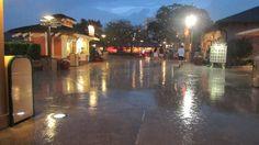 Rainy Day at Walt Disney World