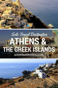 Looking to travel to Athens & the Greek Islands? Check out what solo traveller Melissa had to share. http://solotravelerblog.com/solo-travel-destination-athens-the-greek-islands/