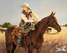 Love this western painting