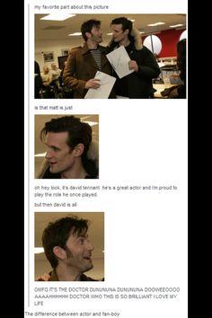 This is why I love ten the most <3... He's one of us!