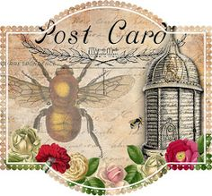 Free Printables: Bee and Beekeeping Tags Bountiful Heirlooms: Free Printables: Bee and Beekeeping Tags Scrapbooking, Scrapbook Paper, Couple Scrapbook, Photomontage, Paper Art, Paper Crafts, 1 Tattoo, Bee Crafts, Handmade Crafts