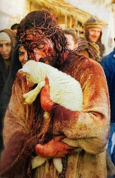 The Lamb of God...I find this so beautiful <3