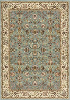 "Antiquities Royal Countryside Slate Blue Area Rug 3'9"" x 5'9"""