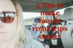5 tips to make family road trips easier Family Road Trips, Travel With Kids, Easy, Youtube, How To Make, Youtubers, Youtube Movies