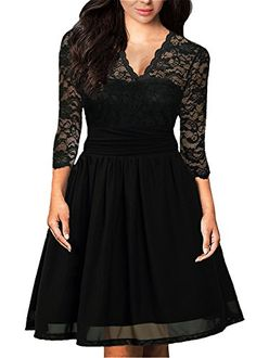 f9214c2462c online shopping for DILANNI Women s Vintage Floral Lace Sleeve Cocktail  Party Tube Dress from top store. See new offer for DILANNI Women s Vintage  Floral ...
