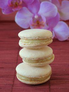 baker and food photographer lemon verbena macarons with lemon cream ...