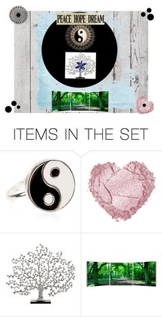 """""""Ying and Yang"""" by thedecorationqueen on Polyvore featuring art"""
