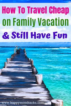 18 Family Vacation on a Budget Ideas. Money saving tips to help you travel cheap on vacation with kids while not missing out on all the fun of vacation. Check out these simple travel hacks today. Road Trip With Kids, Travel With Kids, Family Travel, Inexpensive Family Vacations, Great Vacations, Travel Money, Budget Travel, Family Vacation Destinations, Travel Destinations