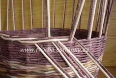 Basket Weaving, Wicker, Christmas Crafts, Knitting, Wall, Craft, Paper Envelopes, Tricot, Breien