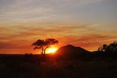 Sunset at Tarangire National Parc - Tanzania