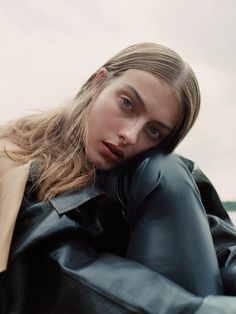 """Photographers Mateja Duljak and Niklas Bergstrand create a natural world with models Cosette and Lone in """"Closer To You"""" for Teeth Magazine Online."""