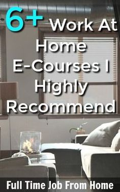 Are you looking for a work at home job? Don't have the skills you need? Here's a list of work at home courses that can help you land your dream work at home job! Work From Home Tips, Make Money From Home, Way To Make Money, Make Money Online, How To Make, Online Cash, Online Jobs, Part Time Jobs, Online Income