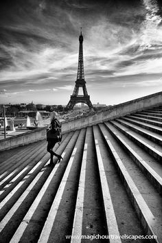 Eiffel Tower from the Trocadero Paris Places Around The World, Oh The Places You'll Go, Places To Travel, Places To Visit, Around The Worlds, Tour Eiffel, Torre Eiffel Paris, Paris Ville, Paris Travel