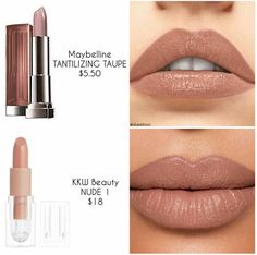 Gorgeous nude lipstick color welcome to my lipstick inspiration board here you will find lipstick shades for senior portraits bridal wedding engagement special occasions headshots modeling portfolio prom and everyday makeup www collinsmakeup com Beauty Make-up, Beauty Hacks, Natural Beauty, Natural Makeup, Beauty Skin, Lipstick Colors, Lip Colors, Lipstick Dupes, Eyeshadow Dupes