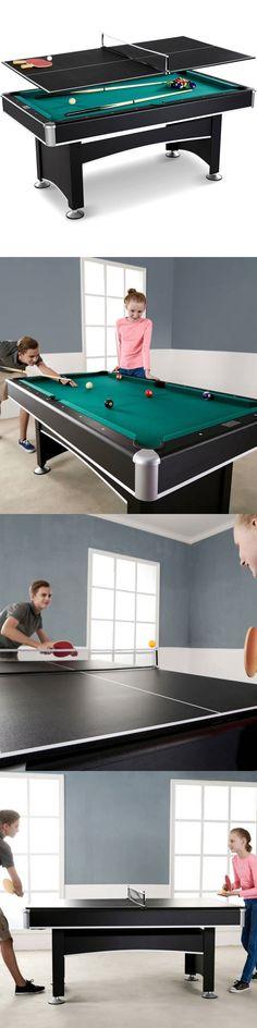 Tables 21213: Arcade Billiard Pool Table With Table Tennis Top Accessory  Kit Barrington 6 Ft