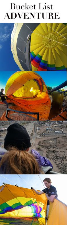 Check this off your bucket list! Rides offered 7 days a week, year-round. Air Balloon Rides, Hot Air Balloon, Adventure Bucket List, Colorado Springs, Places To See, Balloons, Fair Grounds, Check, Travel