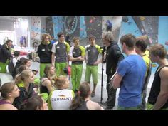 ▶ German Bouldering Team trainings, 2009-2014, pt.2/4 - YouTube