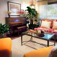 Sunnyvale Caribbean Living Room Piano