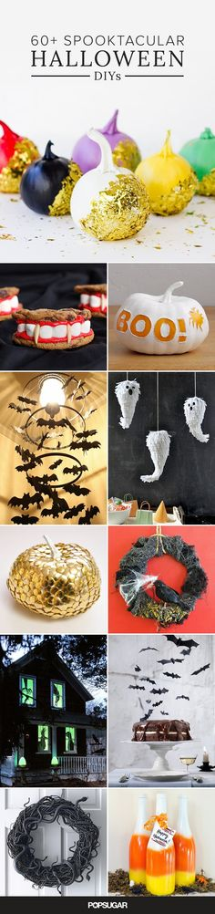 It's time to get rid of those same old Halloween decorations you've been using year after year. These affordable Halloween DIYs are sure to add a chic touch to your home decor this October.