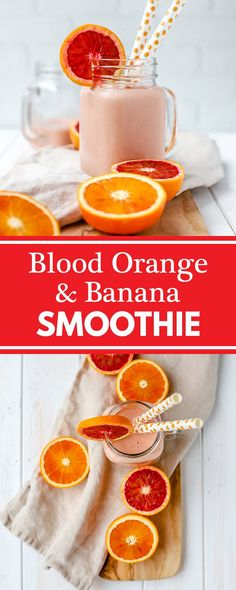 >>>Cheap Sale OFF! >>>Visit>> A healthy blood orange banana smoothie cool creamy and perfect for taking full advantage of citrus season! Breakfast Smoothies, Fruit Smoothies, Healthy Smoothies, Healthy Drinks, Smoothie Recipes, Drink Recipes, Margarita Recipes, Breakfast Bowls, Detox Drinks