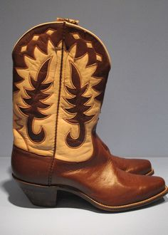 Vintage Nocona Boots Western Wear, Western Boots, Nocona Boots, Custom Cowboy Boots, Cowboy Gear, Designer Boots, Cool Boots, Footwear, My Style