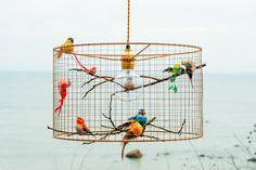 Copper Birdcage Pendant Light Chandelier by Kekoni on Etsy https://www.etsy.com/listing/246552868/copper-birdcage-pendant-light-chandelier