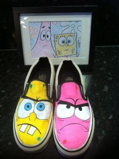Spongebob x Patrick vans