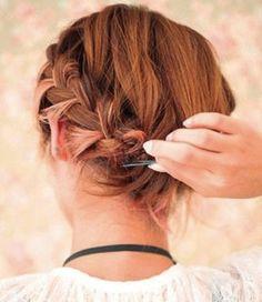 Last fall girls short hair braided hair hairstyle   long hair styles   Asian hairstyle   Korean men Hairstyle