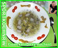 """""""Liebe geht durch den Magen"""" oder wenn das Essen sexy macht!:  """"Kalbswurstsuppe mitZucchinistücken und Selleri..."""