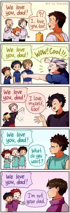 Haikyuu Daddies