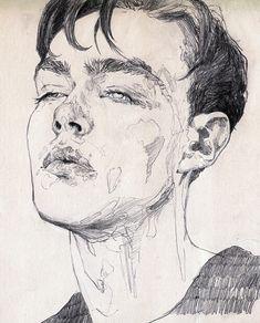 Imagem de art, boy, and drawing