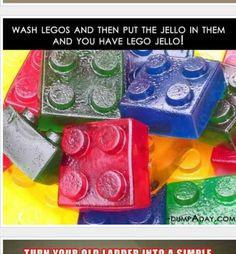 Lego jello....duplo molds