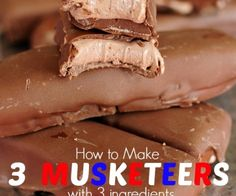 Easy Homemade 3 Musketeers