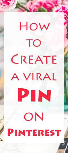 One of the biggest mysteries, to all of those who want to become Pinterest experts , is, how to create a good quality Pin. On Pinterest, everything is about posting a good quality Pin.  READ: http://liveyourdreams.tips/ideas-for-life/fantastic-pinterest-tips/  #pin #pinterest #socialnetwork #blog #blogging