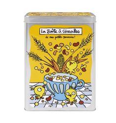 Boite à céréales - Cuisine http://www.deco-et-saveurs.com/1906-boite-metal-a-cereales-derriere-la-porte.html