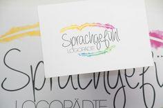 speechtherapist logo . . . #speechtherapie #logopaedie #sprachgefuehl #logodesign #inspiration #watercolor #watercolour #colourful #design #designedwithlove #solemediadesign Logodesign, Logos, Inspiration, Company Logo, Biblical Inspiration, Logo, Inhalation, Legos