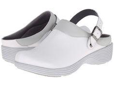7a5b7ac8f Dansko Women s White Leather Slingback Shoes Size 39 US Women s 8 5 9