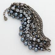@ Kohl's NOW  Simply Vera Vera Wang Two-Tone Multistrand Pearl Bracelet  Original $34.00 Sale $20.40